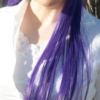 Saeko cosplay wig