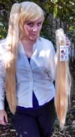 Neru Akita wig clip view