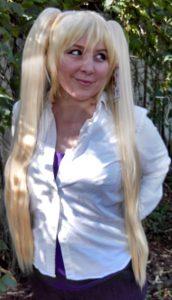 Neru Akita cosplay wig