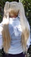 Neru Akita wig back view
