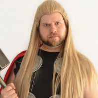 Thor cosplay wig