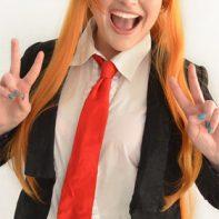 Asuna cosplay wig