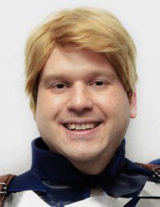 Captain America cosplay wig