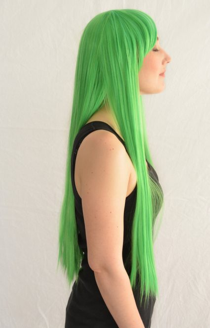 CC cosplay wig side view