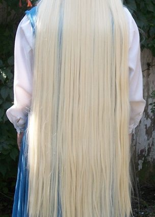 Chii cosplay wig back view