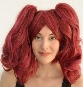Clover cosplay wig