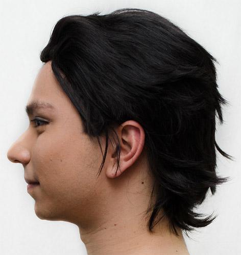 Cronus Ampora Cosplay Wig Side