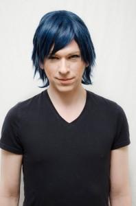 Chrom cosplay wig