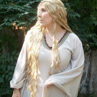 Galadriel cosplay wig