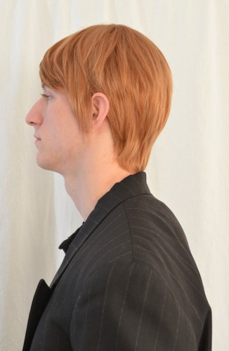 Hannibal cosplay wig side view