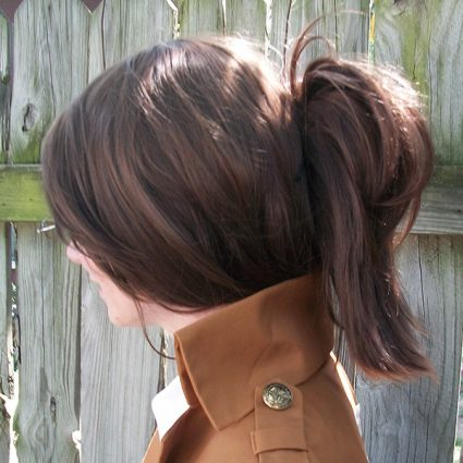 Hanji wig side view