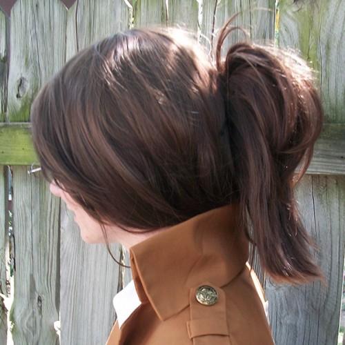 Hanji wig side view