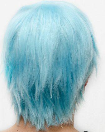 Kuroko cosplay wig back view