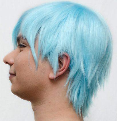 Kuroko cosplay wig side view