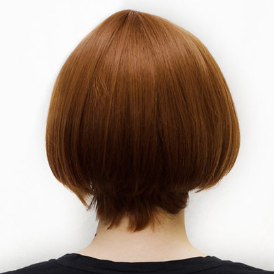 Mako Mankanshoku cosplay wig back view