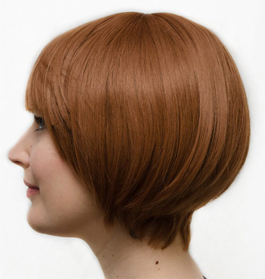 Mako Mankanshoku cosplay wig side view
