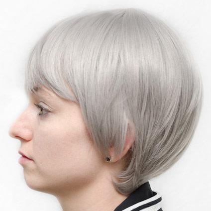 Nitori cosplay wig side view