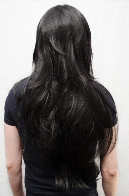 Jade Harley wig back view