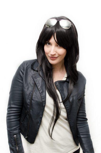 Marceline cosplay wig
