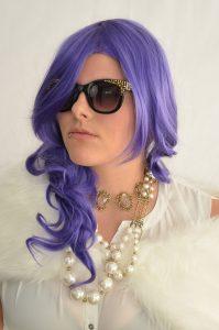Rarity cosplay wig