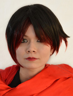 Ruby Rose cosplay wig
