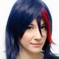 Ryuko cosplay wig