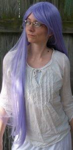 Sarutobi Ayame cosplay wig