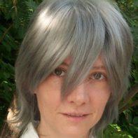 Stein cosplay wig