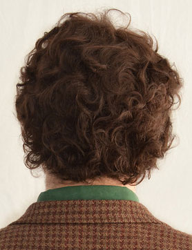 Will Graham cosplay wig back view