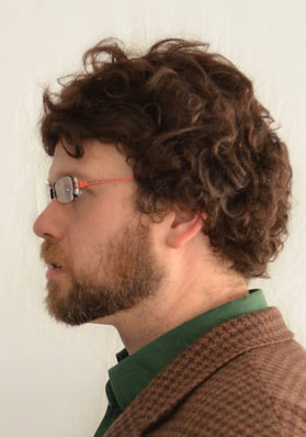 Will Graham cosplay wig side view
