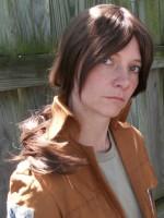 Ymir cosplay wig