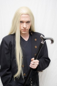 Lucius Malfoy cosplay wig