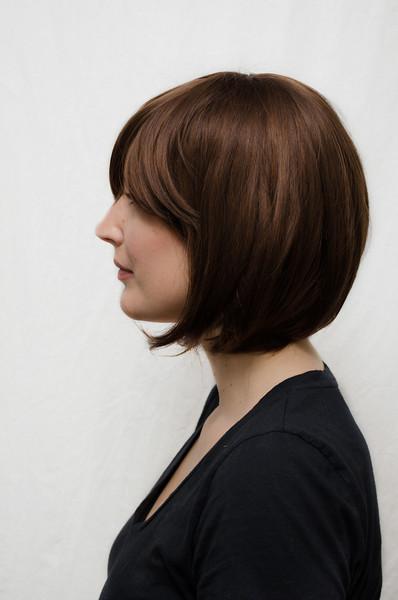 Elizabeth cosplay wig side view