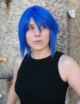 Aqua cosplay wig