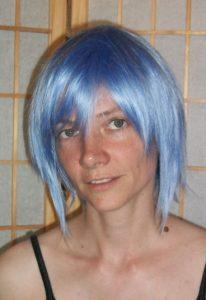 Pale Aqua cosplay wig