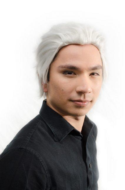 Vergil cosplay wig