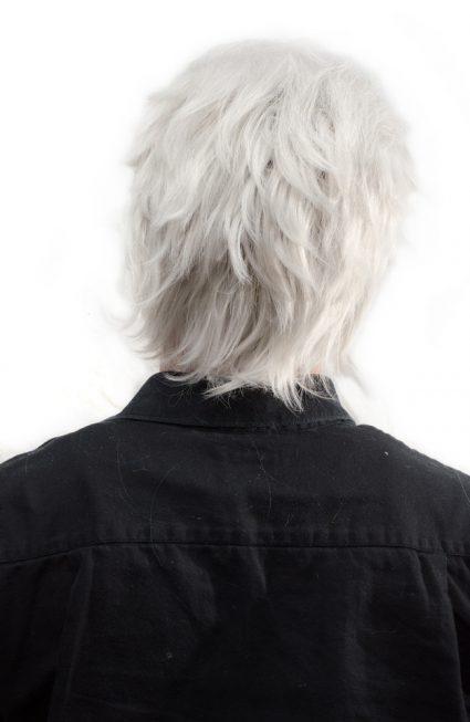 Vergil cosplay wig back view