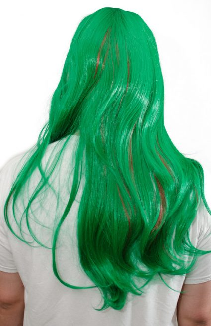 Makishima cosplay wig back view