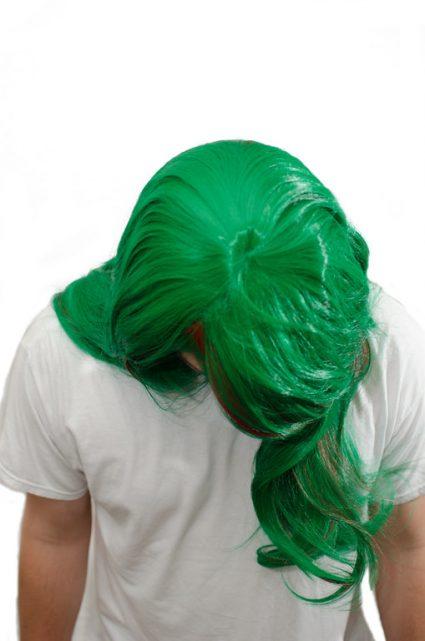 Makishima cosplay wig top view