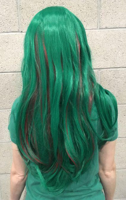 Makishima wig back view