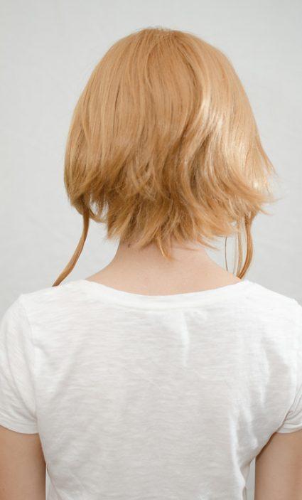 Sakura wig back view