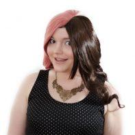 Neapolitan cosplay wig