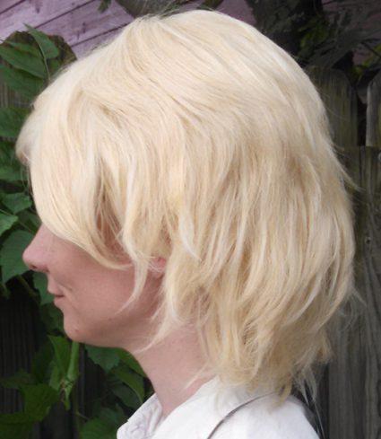 Dirk wig side view