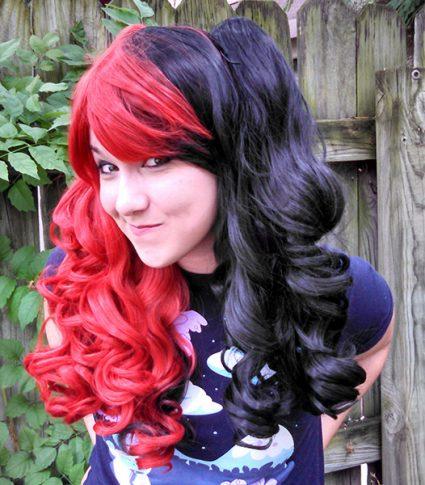 Harley Quinn cosplay wig