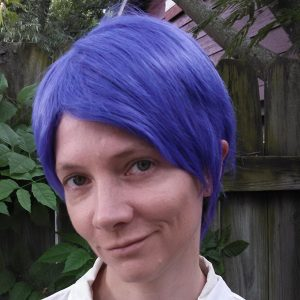 Tsukiyama cosplay wig