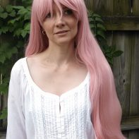 Utena cosplay wig