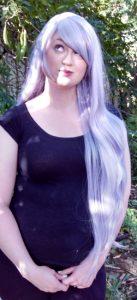 Amethyst cosplay wig