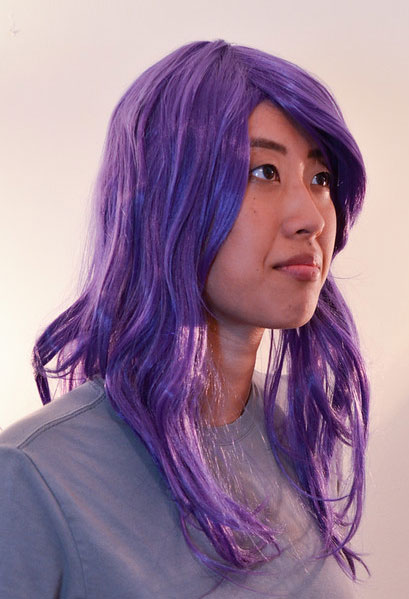 Rize cosplay wig