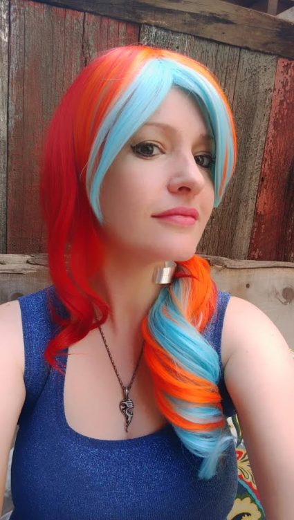 fiery wig photo by unsung ivy