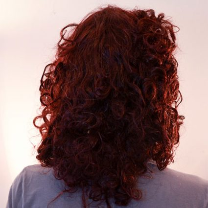 Ruby wig back view